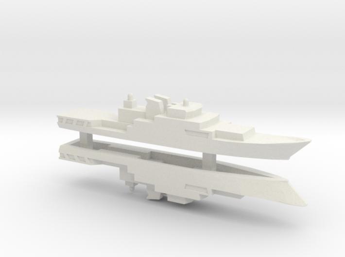 Haijing/CCG-1305 Patrol Ship x2, 1/1800 3d printed