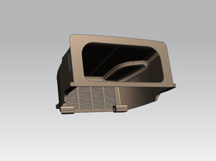 Oshkosh-hood--1to13 8  3d printed Reduce rear wall surface