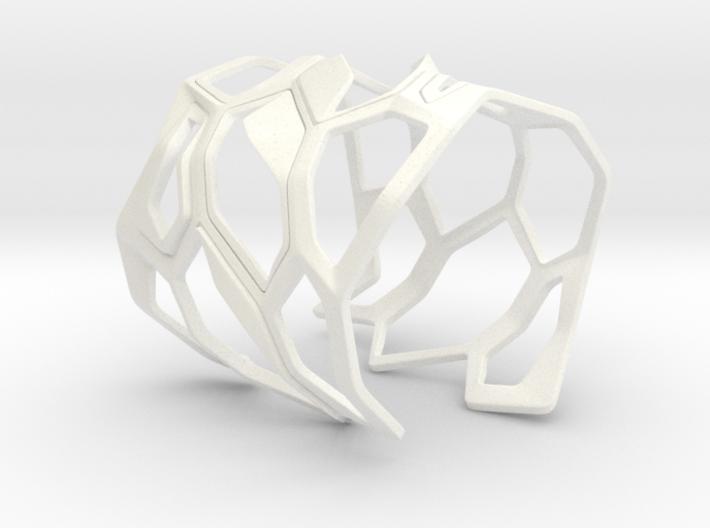 Exoskeleton Bracelet 3d printed
