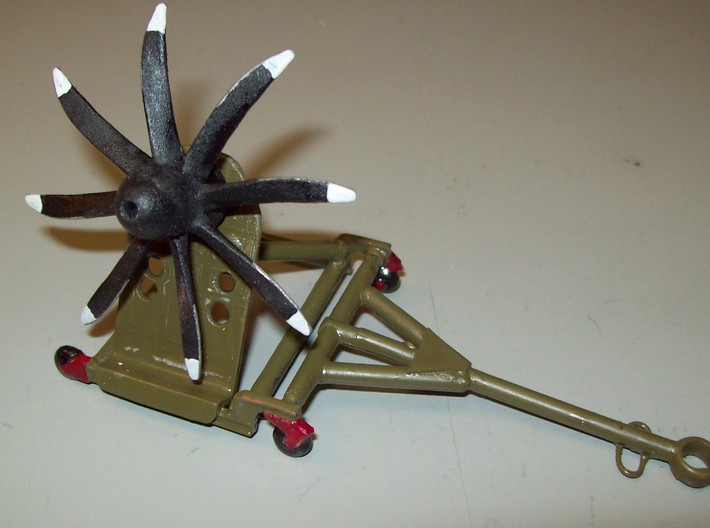 NP2000-1b-3x8 1-32nd 3d printed 1/72 NP2000 on a Propeller Stand