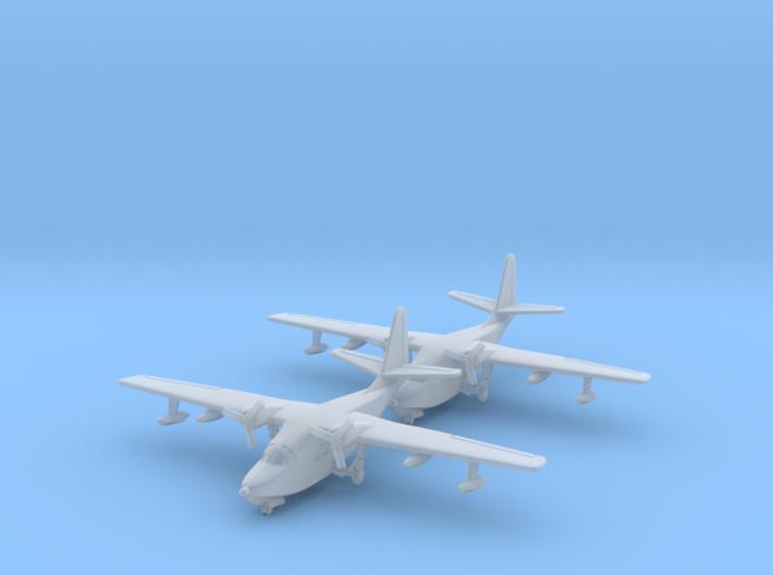 1/700 HU-16 w/gear x2 (FUD) 3d printed