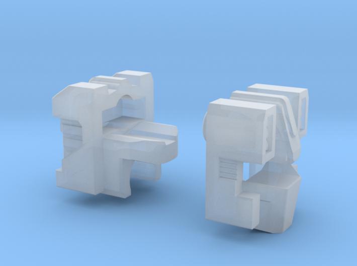 Combat Heli Head for Energon 3d printed