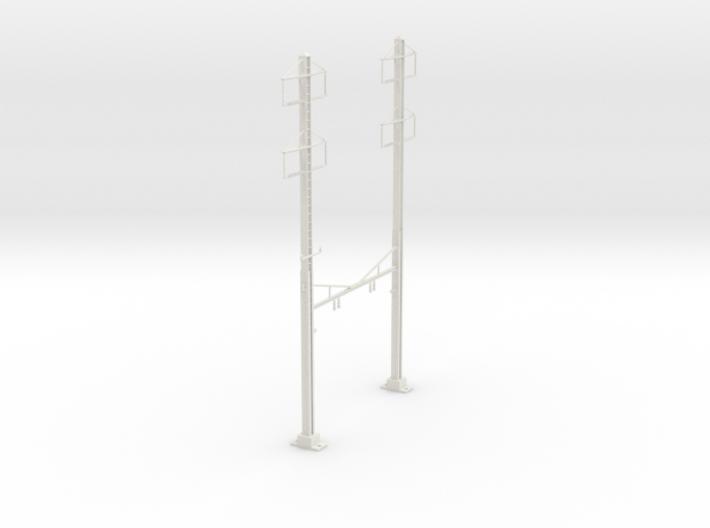 HO Scale PRR K Braced 2 Track 2 2 PHASE REV 3d printed