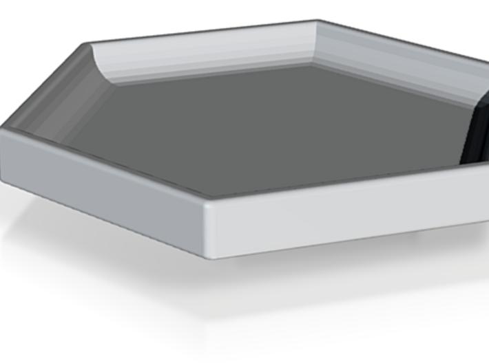 Hexagon Plate 3d printed