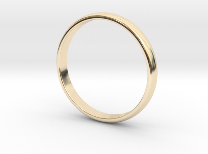 Simple Ring Size 5 3d printed