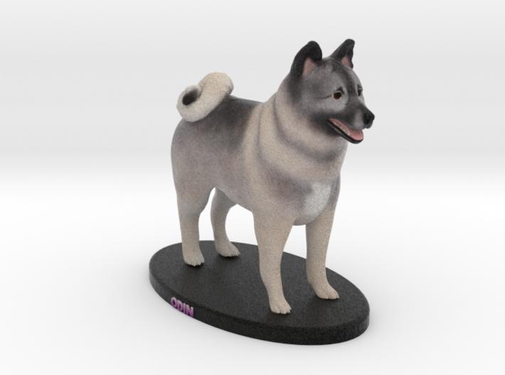 Custom Dog Figurine - Odin 3d printed