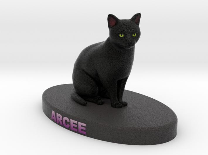 Custom Cat Figurine - Arcee 3d printed