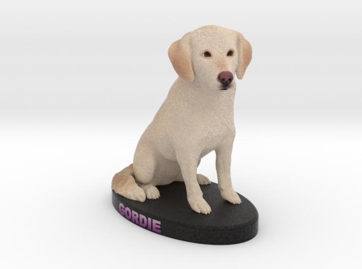 Custom Dog Figurine - Gordie 3d printed