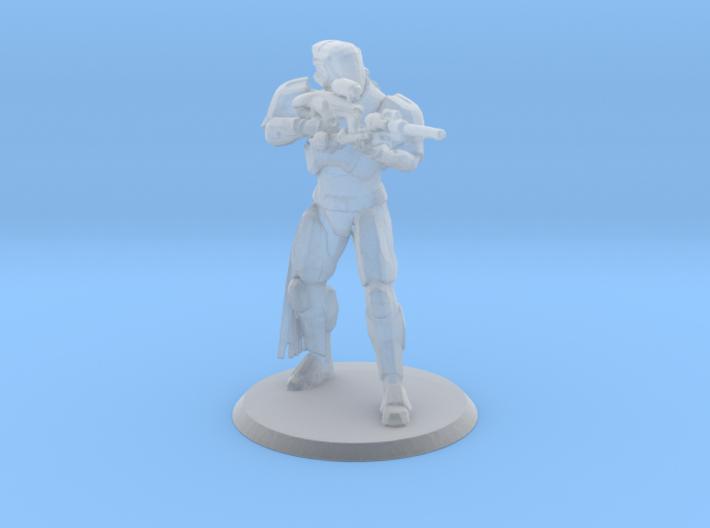 Defender Miniature 3d printed