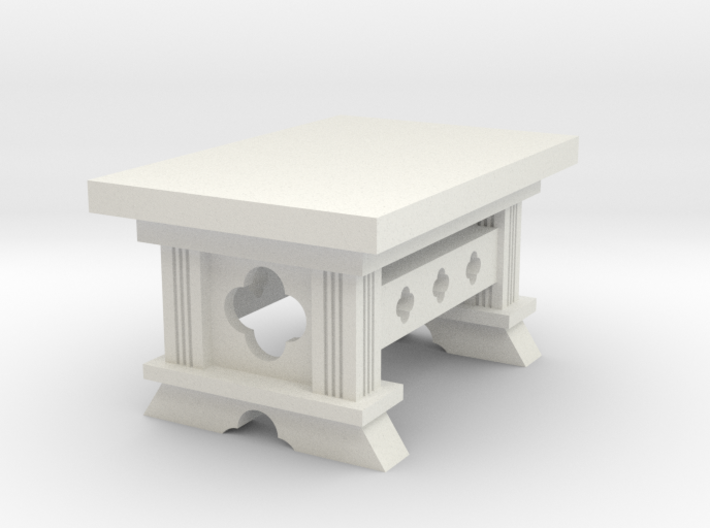Gothic Table (28mm) 3d printed