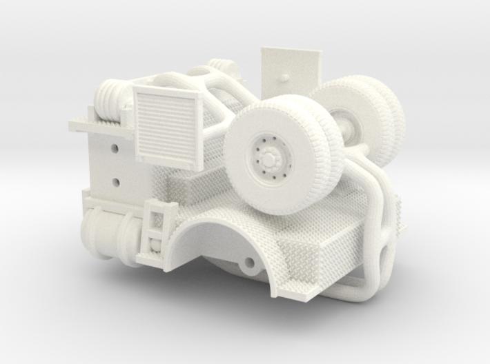 Tiller Middle 3d printed