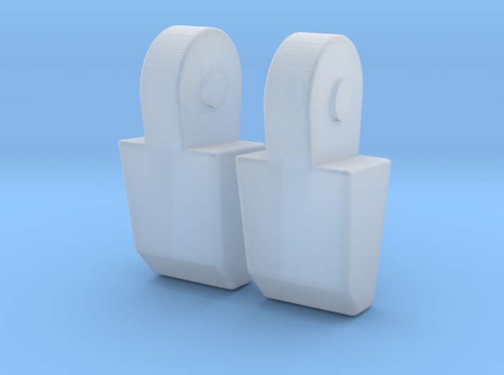 MP-11 Pointer Finger Pair 3d printed