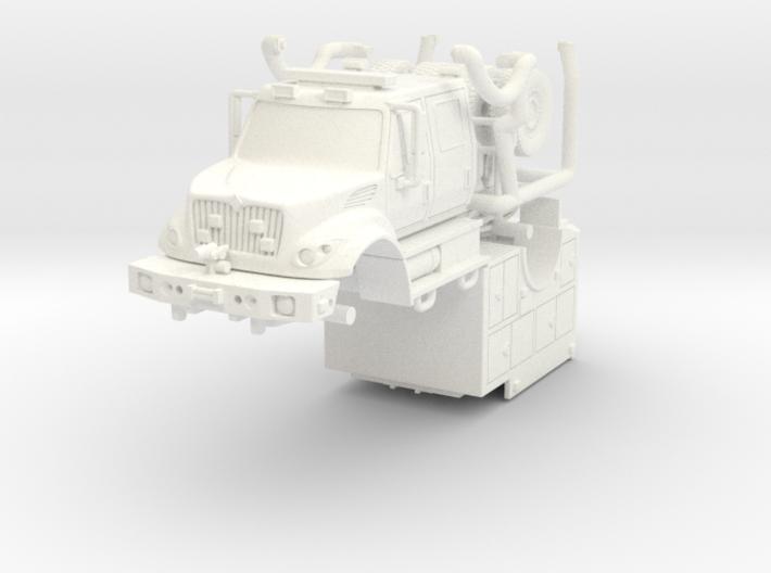 1/87 KME/International Brush Fire Truck FDNY 3d printed