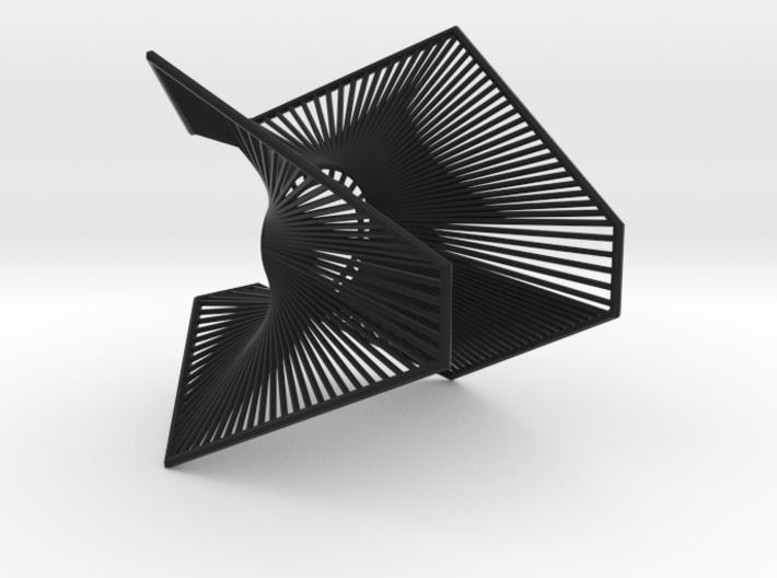 A lamp - Enneper 3d printed