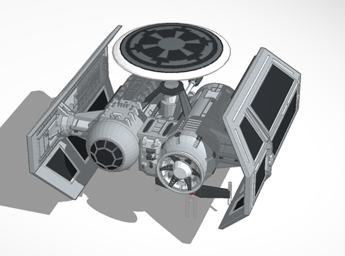 1/72 Antenna Upgrade for Tie Bomber 3d printed
