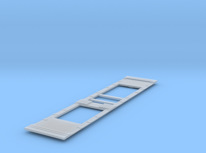 Coil E & G (ex Warflat) floor without grilles a 3d printed
