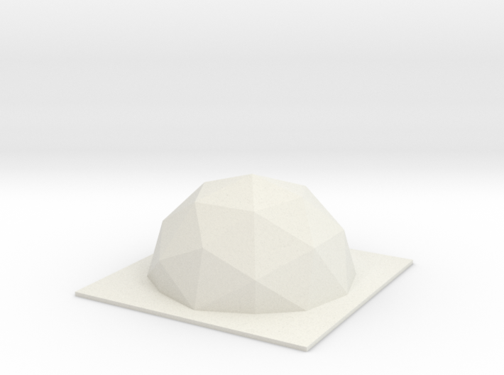 DRAW mold master - geodesic 3d printed