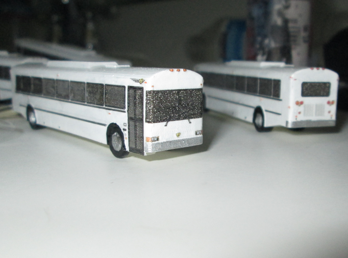 n scale school bus 2015 ic re 300 (long) 3d printed COACH VERSION SHOWN
