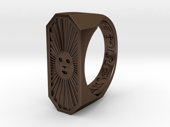 Talisman #4: Make you loved by beautiful people 3d printed