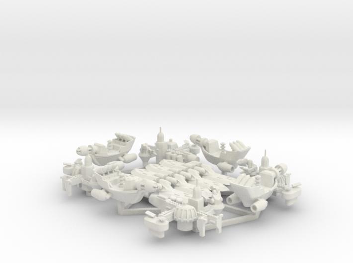 Rho Indi - Fleet Pack 3d printed