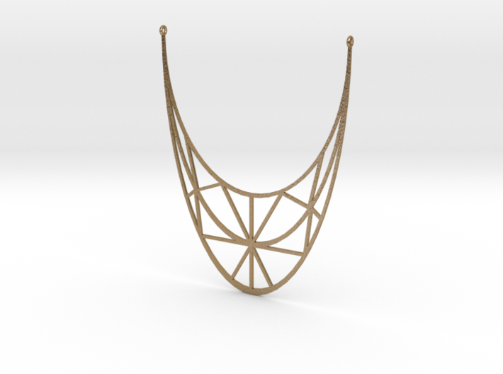 String Necklace 3d printed