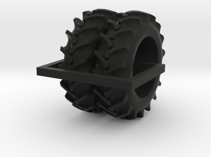 1/64 20.8-38 Rice and Cane tires - 1 pair 3d printed