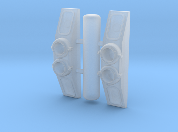 NB0001 GTW/SP SW800/900/1200RS Numberboards 1/87.1 3d printed