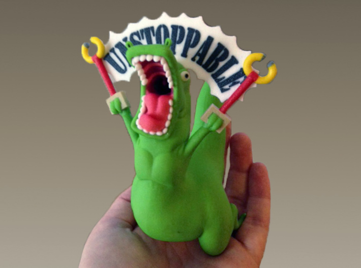 Unstoppable T-Rex 3d printed