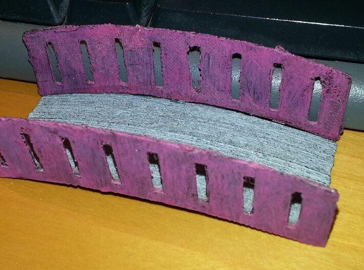 Mini Bridge (Brücke) 3d printed Printed with my badly configured 3d printer