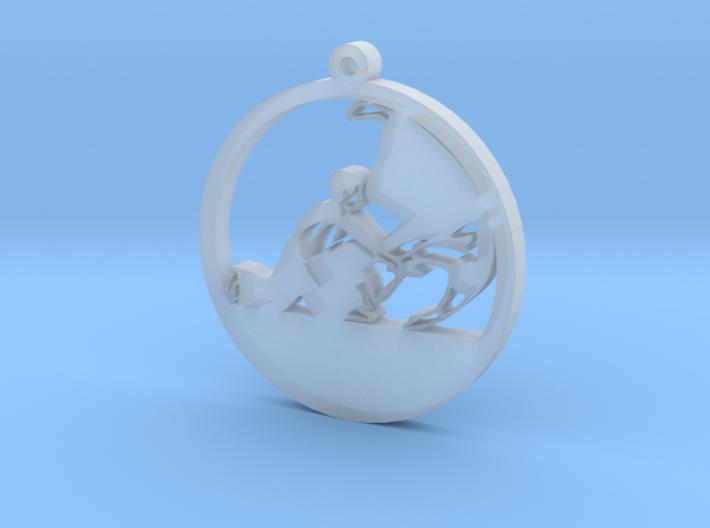 Keychain Aikido/Judo/Karate/Taekwondo/Fighting 3d printed