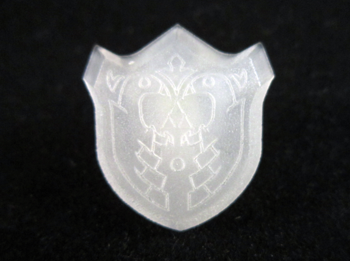 Mirror Shield III 3d printed Frosted Ultra Detail