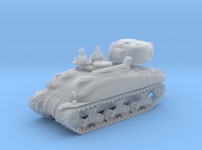 SHERMAN M4A1 (M34 Gun) TANK 3d printed