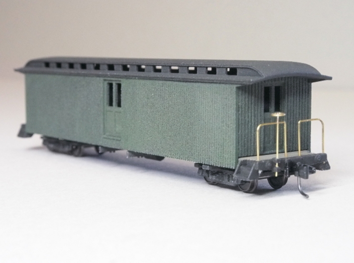 HOn3 40ft Baggage Car D 3d printed