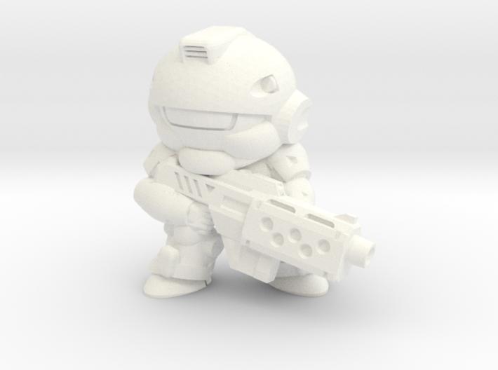 VIPER - MGUN - EYES RIGHT 3d printed