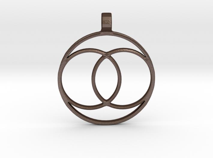[The 100] Coalition Symbol Pendant 3d printed