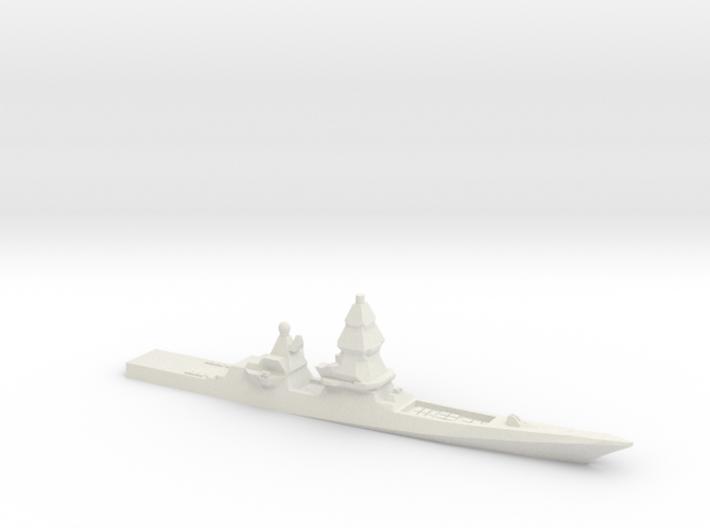 Project 23560E Shkval Destroyer, 1/1250 3d printed