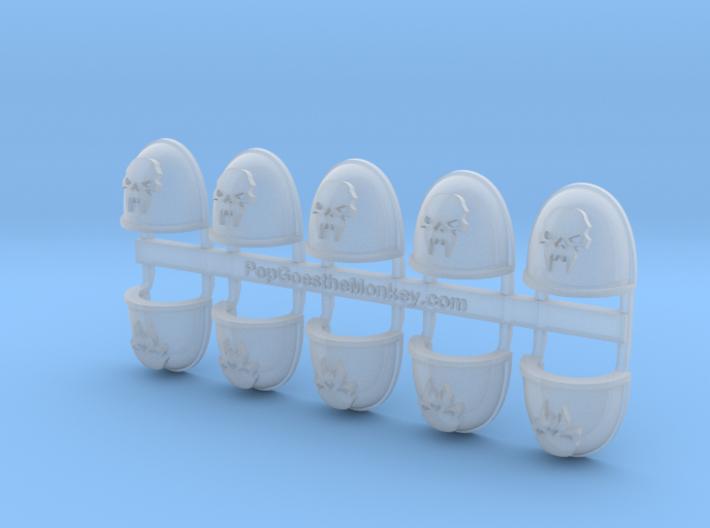 Fang Skull- Gen4:Maximus Shoulder x10 3d printed