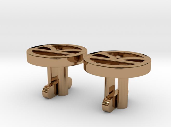Kingsman Cufflinks 3d printed