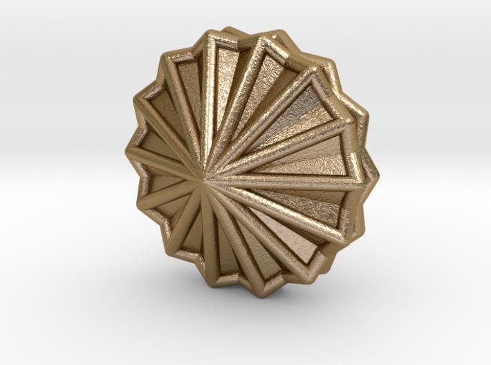 0462 Trapezohedron E&F (66) 3d printed