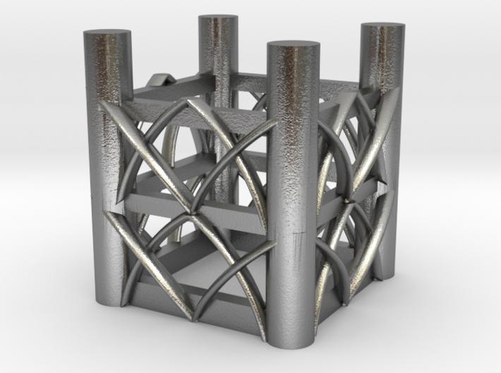 Gothic Princess Basket 3d printed