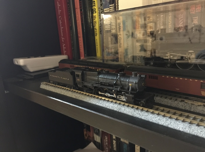 N Scale PRR L1 Shell for Kato Mikado Mechanism 3d printed