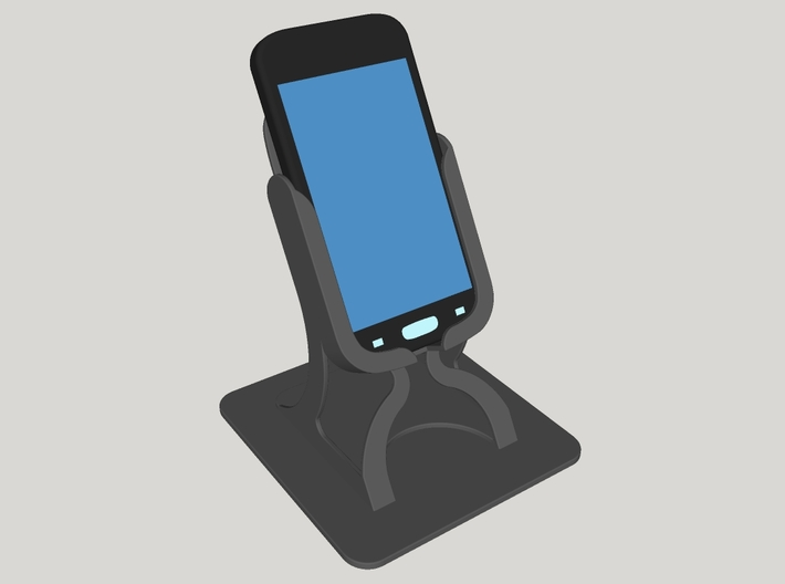Galaxy ACE 4 Phone Holder 3d printed