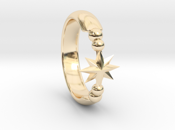Ring of Star 15.3mm 3d printed