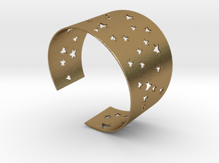 Starry Night Bracelet Ø68 mm L/2.677 inch 3d printed