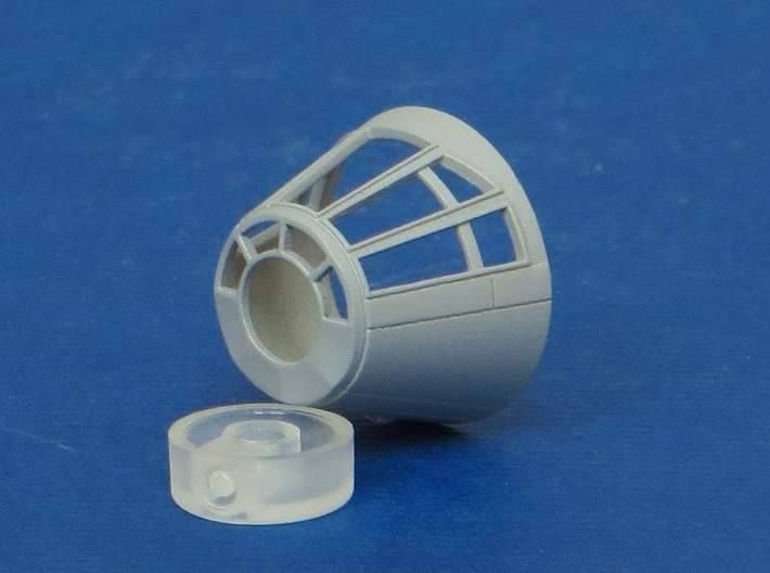 YT1300 BANDAY 1/144 CABIN CONE 5 FOOTER 3d printed Falcon Banday cabin cone 5 footer style.