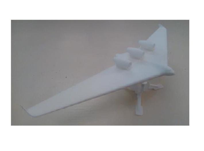 Blended Wing Body-3 3d printed Blended Wing Body Similar to the 797