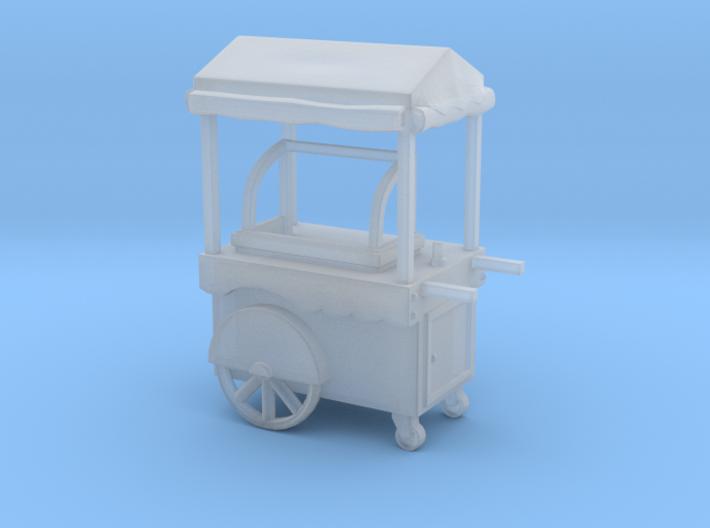 Food Cart 01. HO scale (1:87) 3d printed