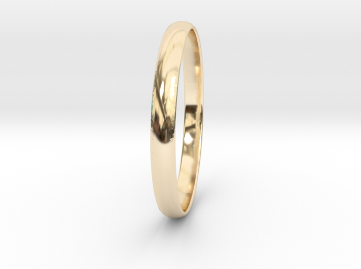 Ring Size 8.5 Design 3 3d printed