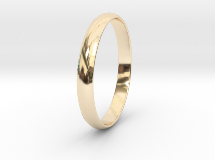 Ring Size 5.5 Design 4 3d printed