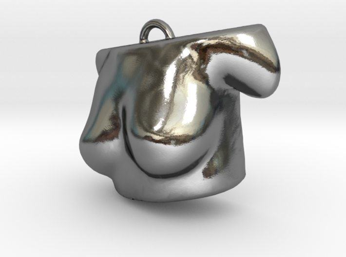 3D scared body- Pendent 3d printed